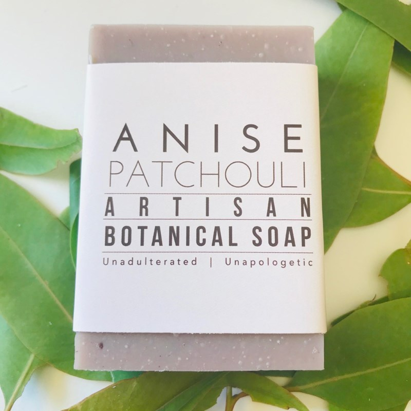 Botanical Bar Soap Anise And Patchouli