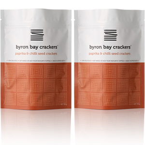 Byron Bay Crackers Paprika Chilli 2 Pack