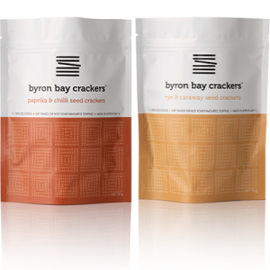 Byron Bay Crackers Paprika Chilli Rye Caraway