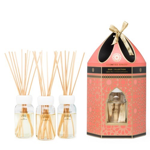 Carousel Gift Pack Peach Reed Diffuser