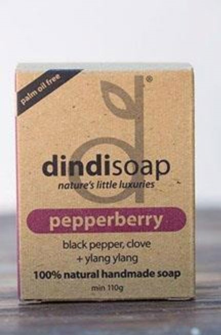Dindi Soap Pepperberry