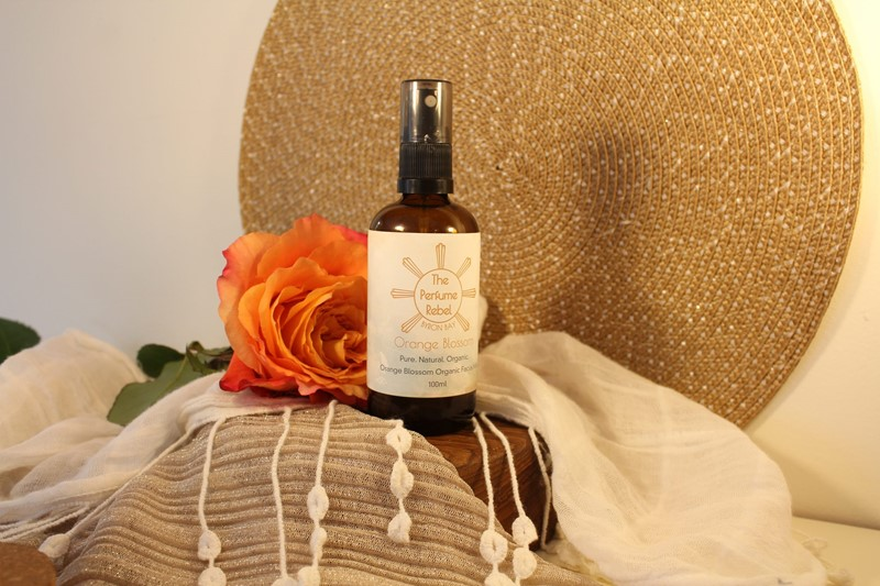 Perfume Rebel Facial Mist Orange Blossom Styled